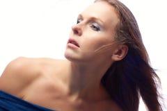 Portrait of a beautiful woman. Stock Image