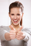 Portrait of a beautiful woman Royalty Free Stock Photos