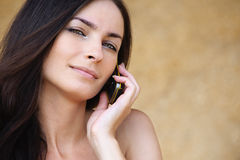 Portrait of beautiful woman Stock Photo