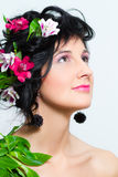 Portrait of a beautiful woman Royalty Free Stock Photography