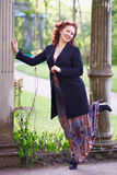Portrait of the beautiful woman. Portrait of the beautiful business woman Stock Photo