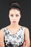 Portrait of beautiful woman Royalty Free Stock Photography