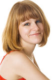 Portrait of a beautiful woman Stock Photos
