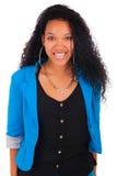 Portrait of Beautiful Woman african black Stock Image
