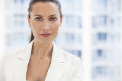 Portrait of Beautiful Woman or Businesswoman In Her Thirties Stock Photography