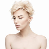 Portrait of a beautiful woman with clean skin Royalty Free Stock Photography