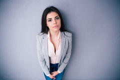 Portrait of a beautiful woman looking at camera Stock Photography