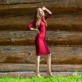 Portrait of beautiful woman outdoor Stock Image