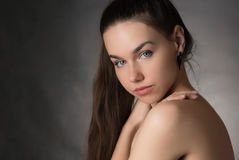 Portrait of beautiful woman. Royalty Free Stock Photos