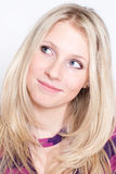 Portrait of a beautiful woman wearing fashion clot Stock Photo