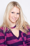 Portrait of a beautiful woman wearing fashion clot Royalty Free Stock Photo