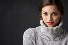 Attractive young woman portrait Royalty Free Stock Images