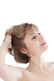 Portrait of the beautiful woman Royalty Free Stock Photos