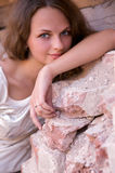 Portrait of a beautiful women Royalty Free Stock Images