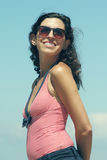 Portrait of beautiful 35 years old woman Royalty Free Stock Image