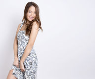 Portrait of beautiful young asian woman Stock Photo