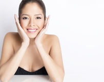 Portrait of beautiful young asian woman Royalty Free Stock Photography