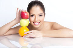 Portrait of beautiful young asian woman Stock Image