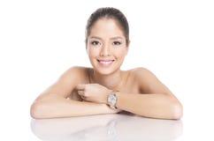 Portrait of beautiful young asian woman Stock Photo