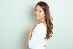 Portrait of beautiful young asian woman Royalty Free Stock Image