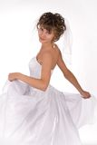 Portrait of the beautiful young bride Royalty Free Stock Photo