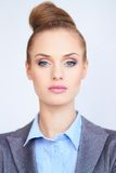 Portrait of a beautiful young business woman Royalty Free Stock Photo
