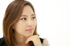 Portrait of a beautiful young businesswoman Stock Image