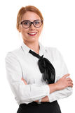 Portrait of a beautiful young businesswoman Royalty Free Stock Photo