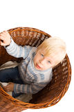 Portrait of beautiful young child Royalty Free Stock Photography