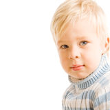 Portrait of beautiful young child Stock Images