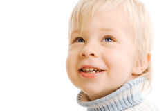Portrait of beautiful young child Stock Image