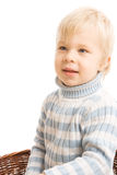 Portrait of beautiful young child Stock Photos