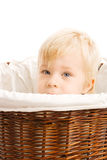 Portrait of beautiful young child Royalty Free Stock Photos