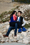 Portrait of a beautiful young couple Royalty Free Stock Photo