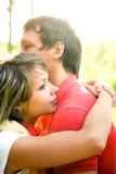 Portrait of a beautiful young couples Stock Images