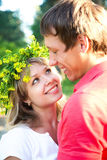 Portrait of a beautiful young couples Royalty Free Stock Images