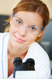 Portrait of beautiful young doctor Royalty Free Stock Photography