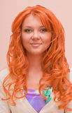 Portrait of a beautiful young ginger woman Royalty Free Stock Images