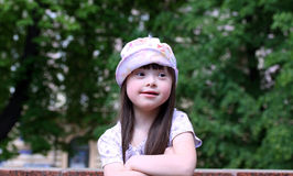 Portrait of beautiful young girl Royalty Free Stock Image