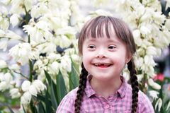 Portrait of beautiful young girl. Royalty Free Stock Photography
