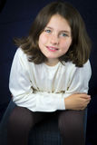 Portrait of beautiful young girl Royalty Free Stock Photos