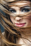 Portrait of beautiful young girl Stock Photo