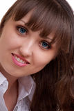 Portrait of Beautiful Young Girl's Face Royalty Free Stock Photo