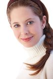 Portrait of beautiful young girl smiling Stock Photography