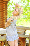 Portrait of a beautiful young lady Royalty Free Stock Images