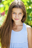 Portrait of a beautiful young little girl Royalty Free Stock Photo