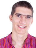 Portrait of beautiful young man Royalty Free Stock Images