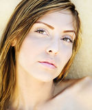 Portrait of a beautiful Young model Royalty Free Stock Photography