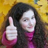 Portrait of beautiful young teenage girl Stock Photography