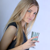 Portrait of a beautiful young teenager Royalty Free Stock Images